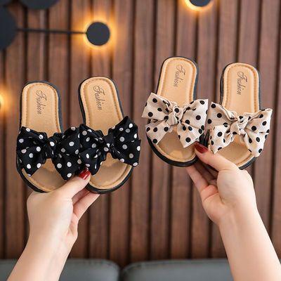 儿童拖鞋女童鞋公主亲子大中小童防滑软底室内可爱软底小孩凉拖鞋