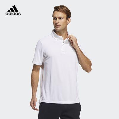 阿迪达斯官网 adidas M MH BD POLO男装运动型格短袖POLO衫GN0810