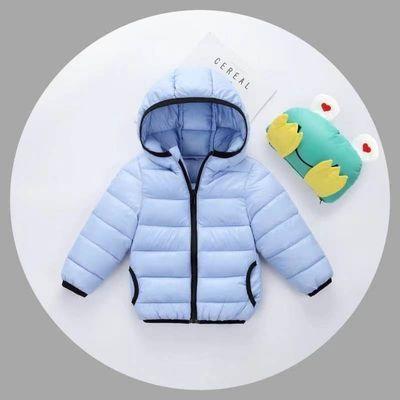 兒童羽絨棉服輕薄款棉衣寶寶男童女童裝短款保暖羽絨棉襖外套