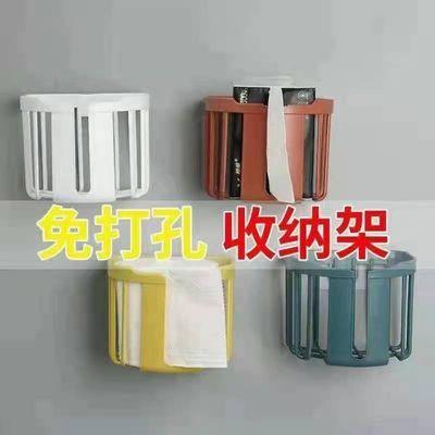 74031/免打孔卫生间卫生纸置物架壁挂式厕所放厕纸架卷纸盒