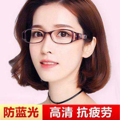 91003/防蓝光时尚折叠老花镜女舒适简约超轻抗疲劳树脂高清远视老花眼镜