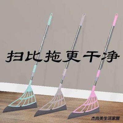 家用韩国黑科技扫地把不粘头发扫灰软毛卫生间扫水软拖把刮水神器