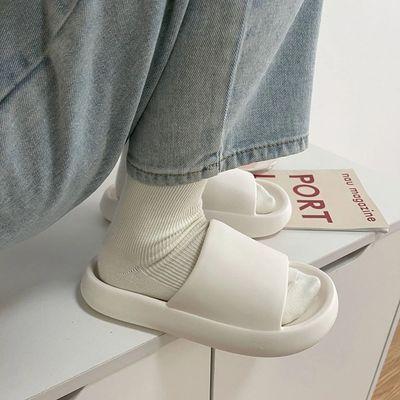 72301/拖鞋男夏情侣室内居家用洗澡防臭防滑厚底凉拖鞋女外穿ins潮学生