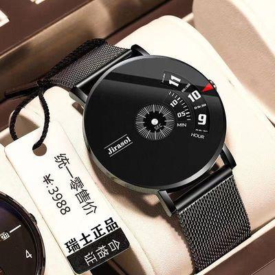 瑞士正品名表全自动机芯手表男士高档时尚非机械表精钢防水手表女