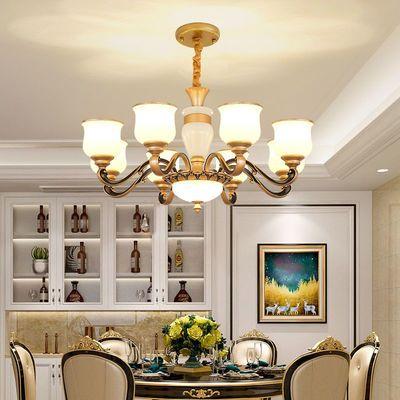 欧式吊灯大厅灯高端大气灯具客厅卧室通用现代新款餐厅简北欧吊灯