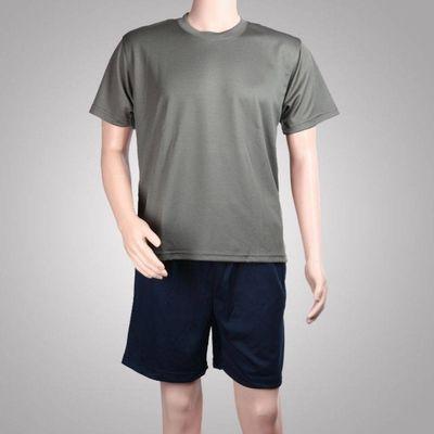 66767/短袖体能服男套装体能训练服夏季军训短裤T恤速干健身衣t恤户外