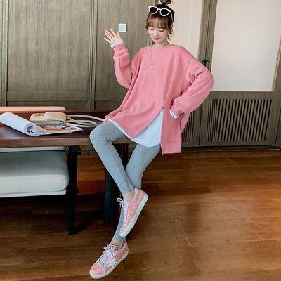 60729/休闲时尚套装女2021秋冬新款气质宽松显瘦T恤卫衣紧身裤两件套潮