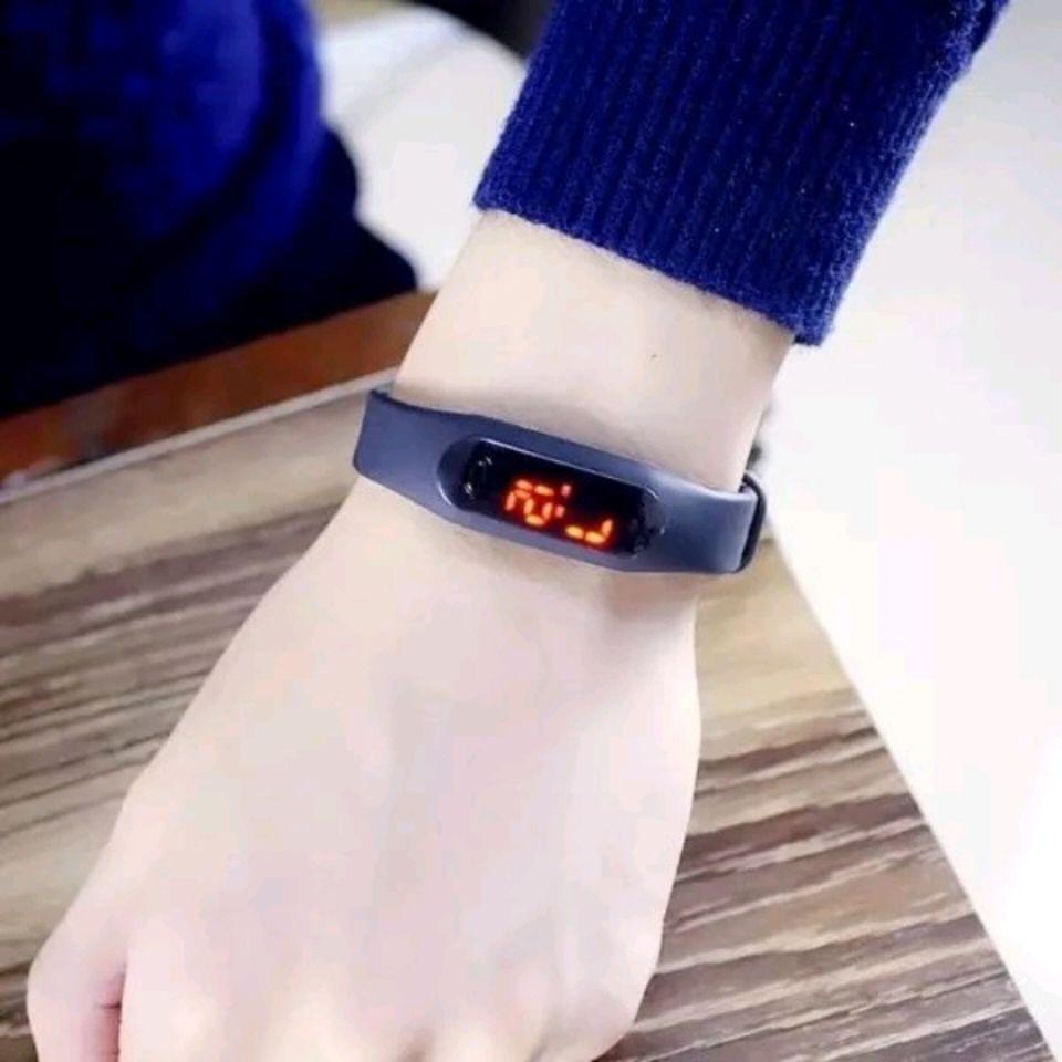 54258-小米LED电子表运动硅胶手环手表女男情侣非触控学生印字运动手表-详情图