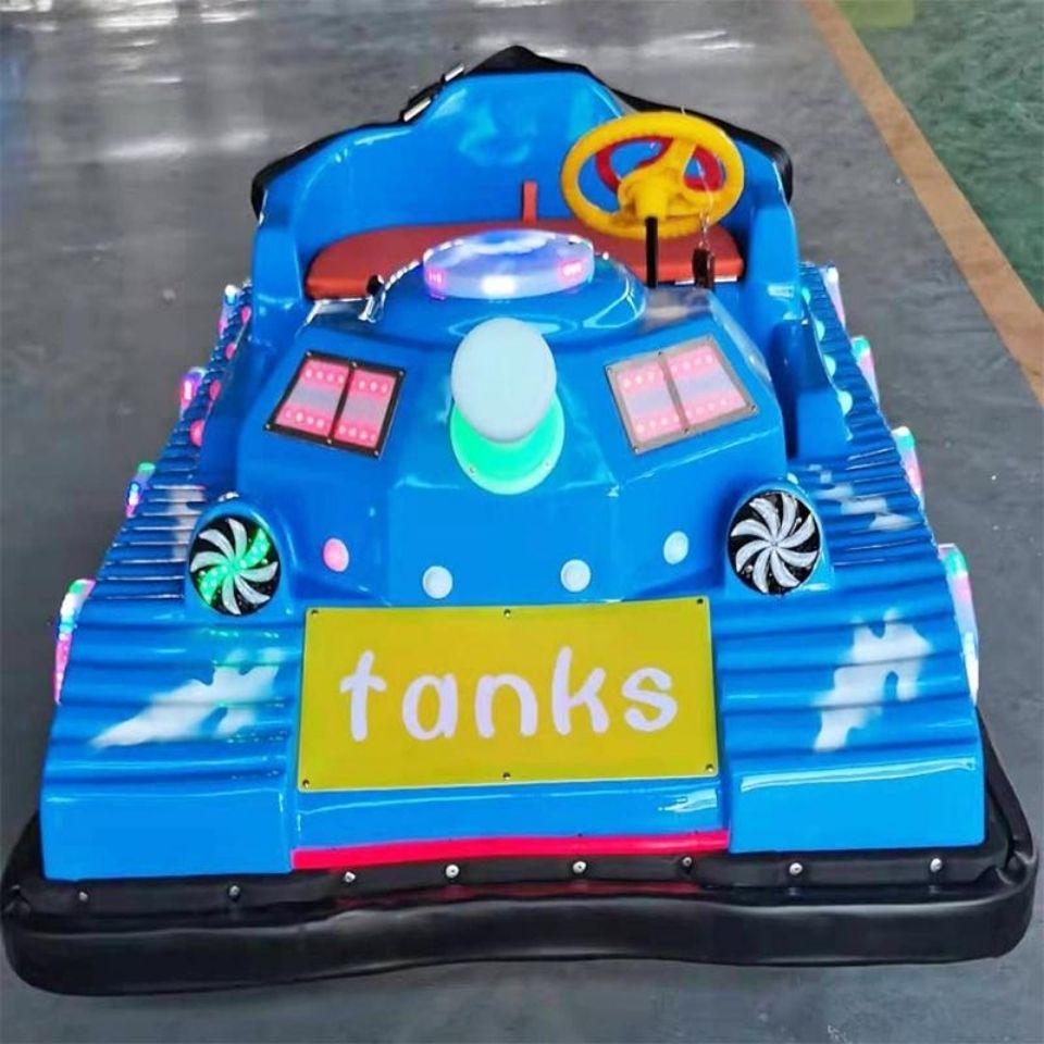 新款广场大型电动坦克摇控玩具车成人儿童游乐设备碰碰车
