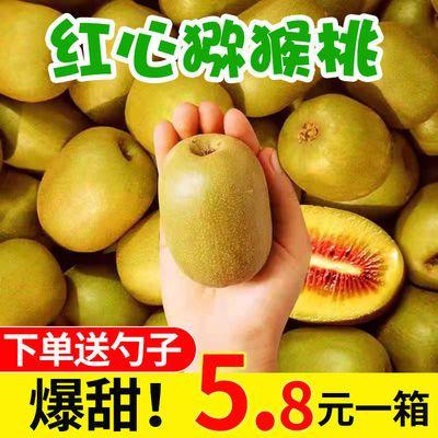 四川红心猕猴桃奇异果大果当季新鲜孕妇水果现摘现发整箱批发包邮