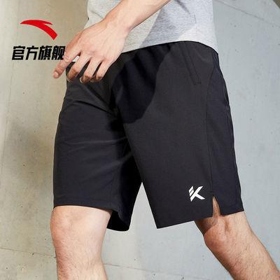 74077/安踏运动裤男短裤夏季新款透气五分裤休闲裤裤子