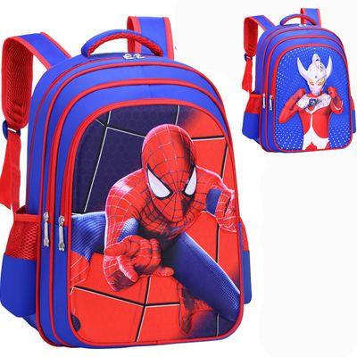 小学生书包男孩一二三四五六年级幼儿园双肩背包3D卡通儿童书包男