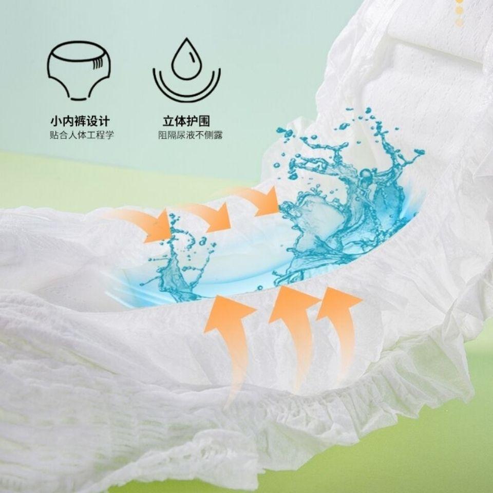 54141-男女宝宝新生儿纸尿裤尿不湿拉拉裤夏季超薄透气干爽婴儿用品批发-详情图