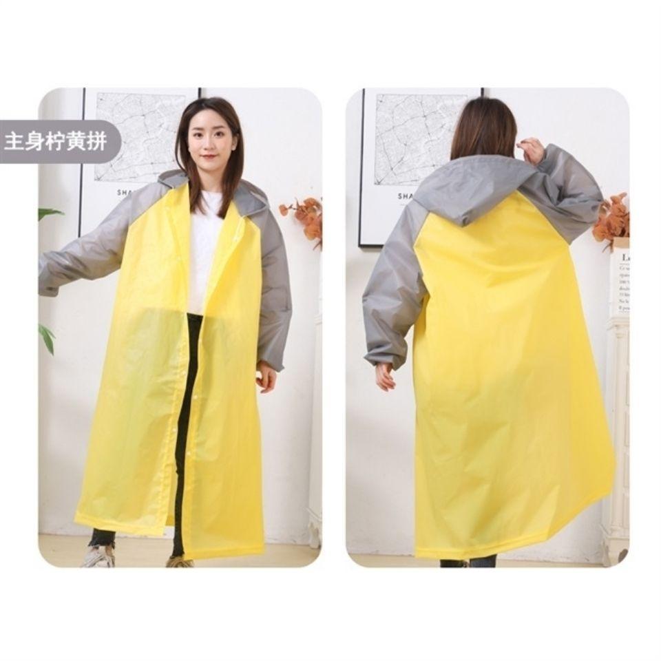 75871-雨衣户外旅游时尚雨衣便携收纳防暴雨干活易清洗加厚全身成人雨衣-详情图