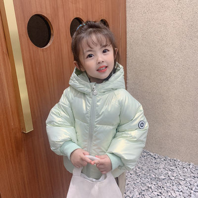 童装儿童羽绒服2021秋冬新款男童女童短款加厚外套宝宝韩版面包服