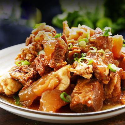 筋头巴脑600g熟食即食肉类火锅牛肉筋牛蹄筋