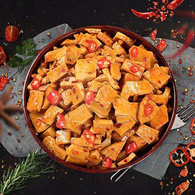 57710/重庆特产网红小吃奇爽小包装零食豆干豆腐干不加鸡精味精色素