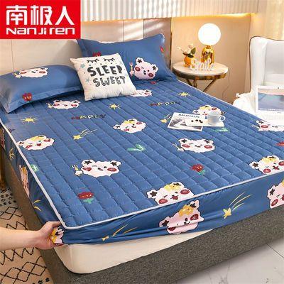 57527/南极人夹棉加厚床笠单件透气床罩防滑固定床垫保护套防尘罩全包围