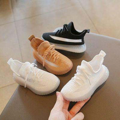73823/儿童宝宝椰子鞋女童运动鞋透气小童网鞋春秋季2021新款男童小白鞋