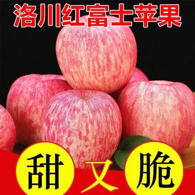 正宗陕西洛川苹果水果批发红富士苹果脆甜不打蜡糖心当季新鲜水果