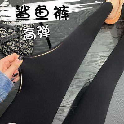 鲨鱼裤女外穿春秋夏薄款显瘦提臀紧身瘦腿裤子芭比瑜伽压力打底裤