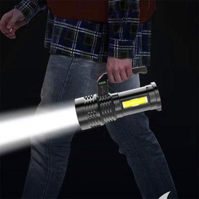 强光手电筒强光充电灯超亮手提氙气探照灯户外远射超长续航车载