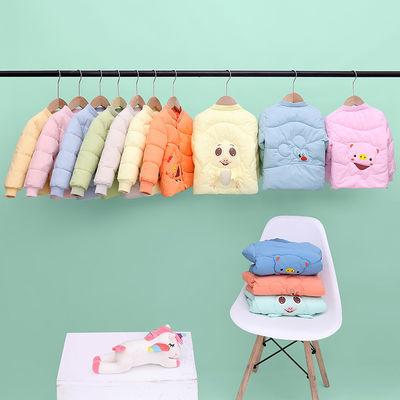 反季儿童棉服童装女童棉袄男童棉服宝宝卡通衣服冬季外套2021新款