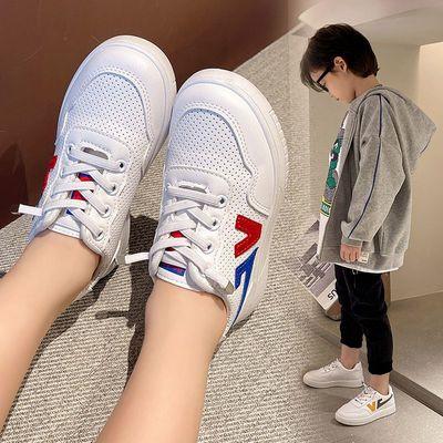 57090/2021年新款板鞋男孩宝宝春秋休闲鞋小白鞋女童鞋轻便薄款运动鞋潮
