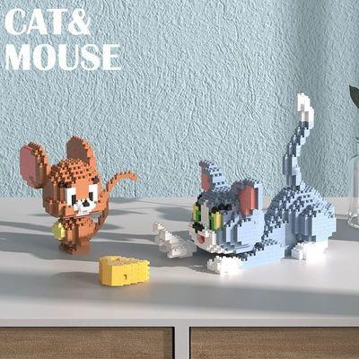 57639/益智兼容乐高积木玩具猫与老鼠星黛露公仔微型小颗粒男女礼物