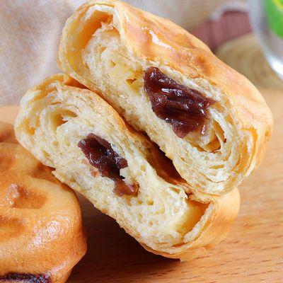 倍之味华夫面包水红豆风味蛋糕卷夹心软面包营养早餐点心零食代餐
