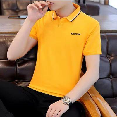 2021新款夏季短袖男士polo衫青年韩版学生翻领t恤服潮流夏装体恤