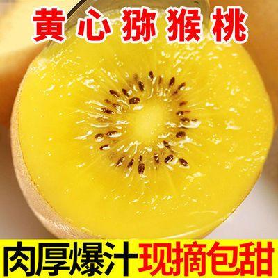 57696/黄心猕猴桃新鲜水果奇异果水源心农整箱应季大果猕猴桃包邮