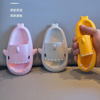 儿童拖鞋鲨鱼夏季男女童防滑洗澡软底加厚可爱卡通小孩室内外拖鞋