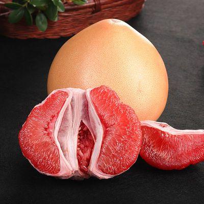 新鲜现摘红心柚子新鲜水果福建平和柚子三红肉蜜柚红柚多规格批发