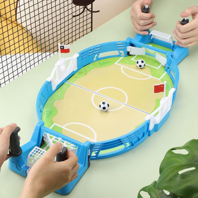 桌面足球游戏台亲子互动儿童益智3到8岁智力开发双人对战男孩玩具