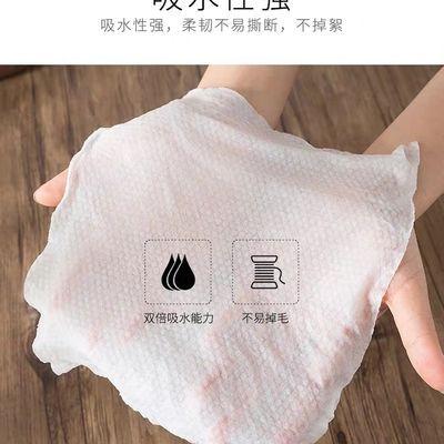 R标柔丽洁压缩毛巾纯棉一次性洗脸巾美容洁面巾加大加厚旅游50颗