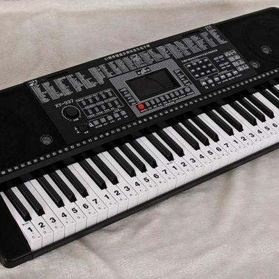 特价包邮88键61键大字体透明钢琴键盘贴纸电子琴琴贴简谱键位贴