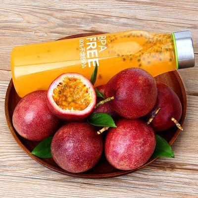百香果3斤5新鲜热带水果西潘莲鸡蛋果大果现摘现发紫色红色白香果