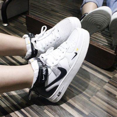 aj1【空军一号】AIR空军一号纯白女鞋板鞋低帮男鞋运动鞋高帮百