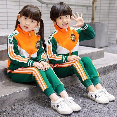 幼儿园园服小学生校服班服女童春秋装秋冬装三件套套装学院英伦风