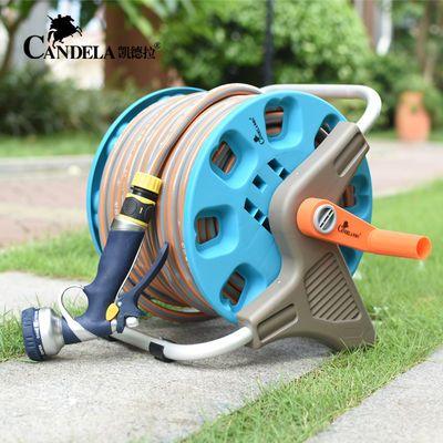 洗车水枪枪头家用浇花田园艺刷车神器洗车水管软管收纳架滑轮套装
