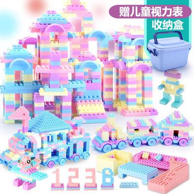 儿童积木颗粒宝宝拼装益智玩具男孩女孩1-2-3岁智力开发主图