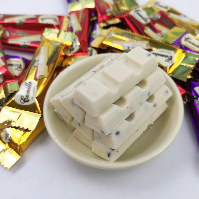 【量贩实惠装】黑白牛奶巧克力一斤约50颗 喜糖果批发年货零食