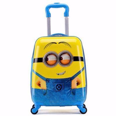 卡通儿童拉杆箱男女小学生万向轮旅行箱16寸18寸登机箱公主行李箱【3月1日发完】