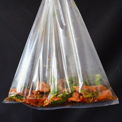 一卷2斤家用加厚食品保鲜袋pe食品级超市专用撕拉大中小号连卷袋