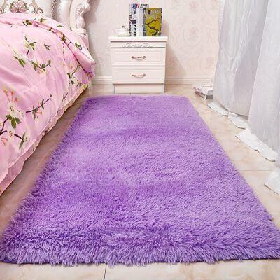 冬季加厚卧室床边地毯客厅茶几地垫飘窗榻榻米少女心房间满铺地垫