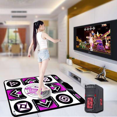 康丽跳舞毯电脑单人有线USB接口健身瑜伽游戏家用跳舞机