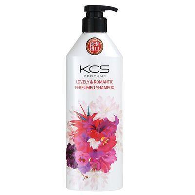 韩国原装进口爱敬KCS可希丝香水洗发水花香弹性滋养修复正品600ml