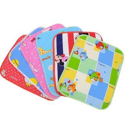 12条装新生儿婴儿纯棉隔尿垫防水可洗透气防漏柔软小号宝宝尿布垫