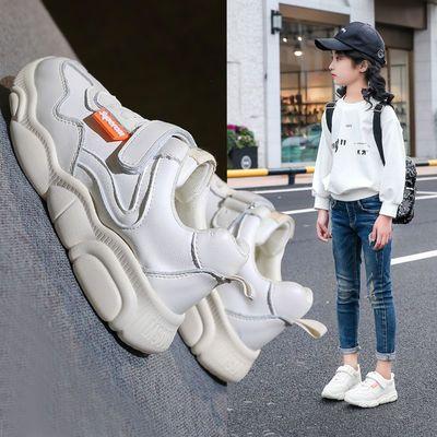 2019春季新款儿童老爹鞋小熊鞋男童小白鞋女童运动鞋中大童跑步鞋